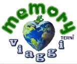 memory viaggi terni